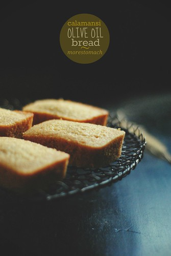 Calamansi Olive Oil Bread | by Lan | MoreStomachBlog