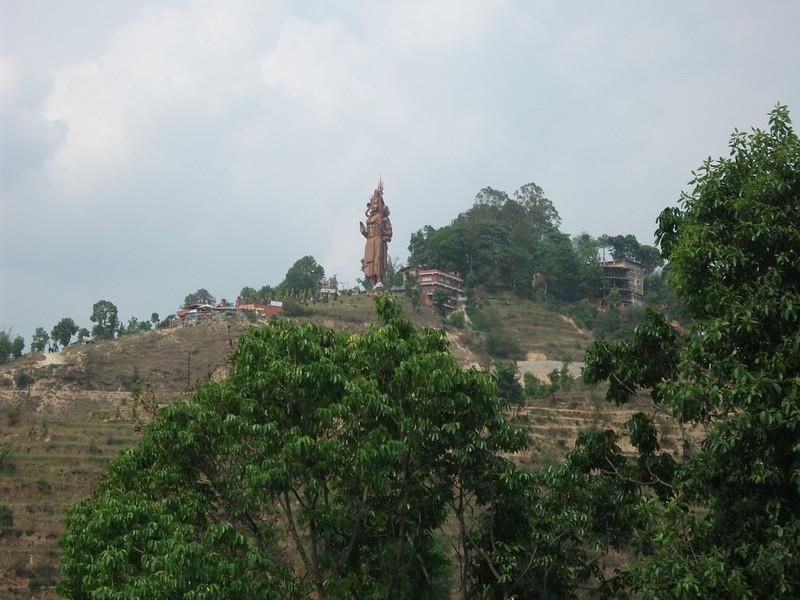 06 Sanga - Shiva Statue (Kailashnath Mahadev)