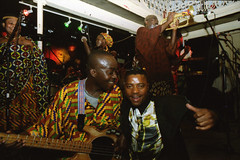 Mac Tontoh Project from Ghana at the Africa Centre London July 2001 075