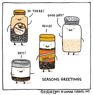 seasons greetings | by gemma correll