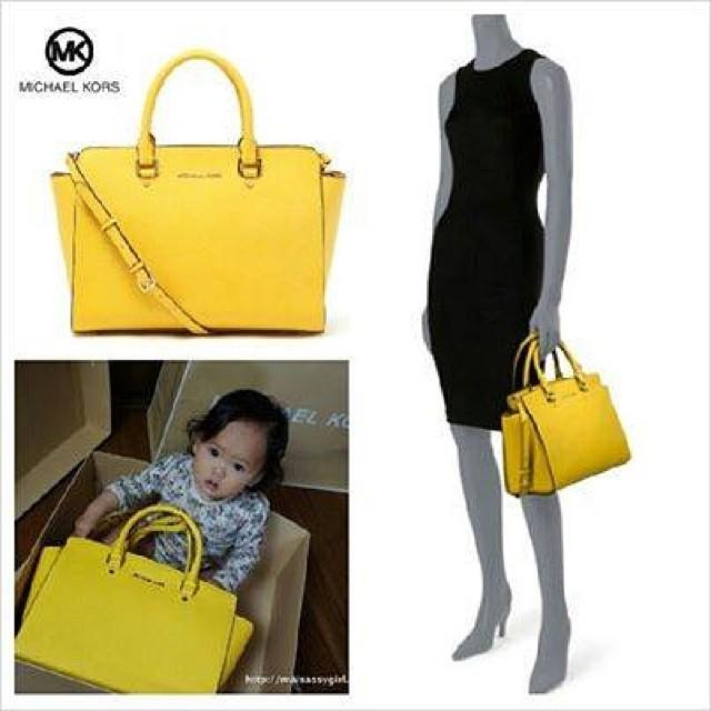 MK selma yellow