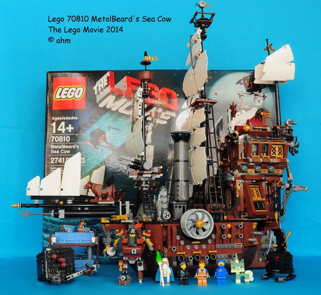 Lego The Lego Movie 70810 Metalbeard S Sea Cow Lego The Le Flickr