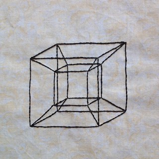 Geometric Tesseract: A Wrinkle in Time | by aalia7