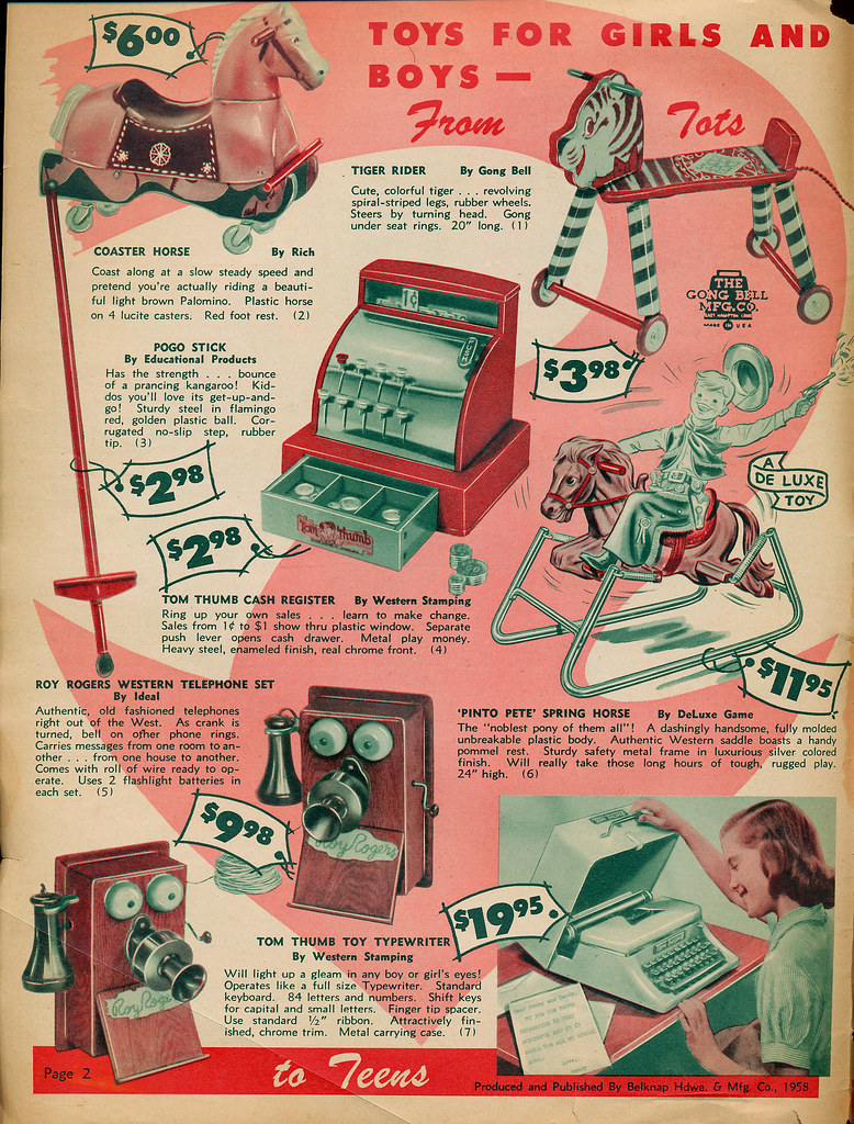 1958 Christmas Catalog | Hohoho, Christmas is coming! Enjoy … | Flickr
