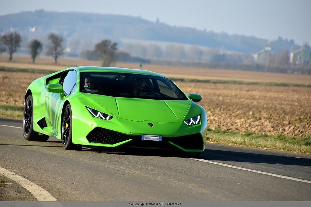 Green spirit  Lamborghini Huracan LP610,4