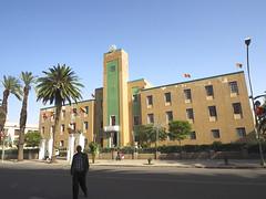 Maakel Region administrative building, Asmara, Eritrea