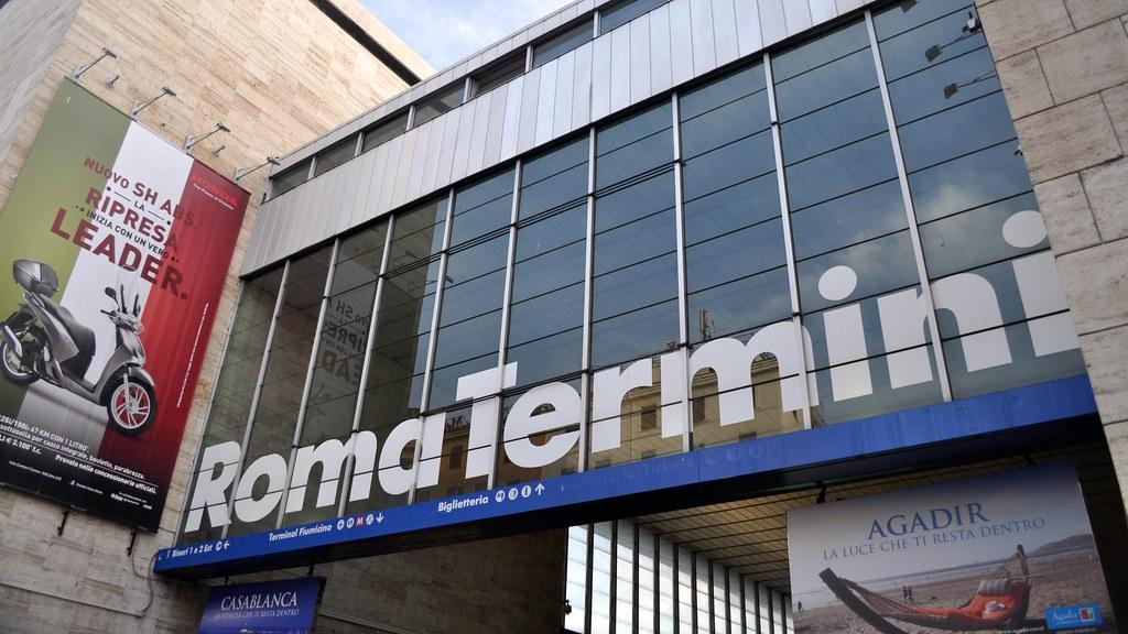 Roma Termini Railway Station, Lazio, Italy