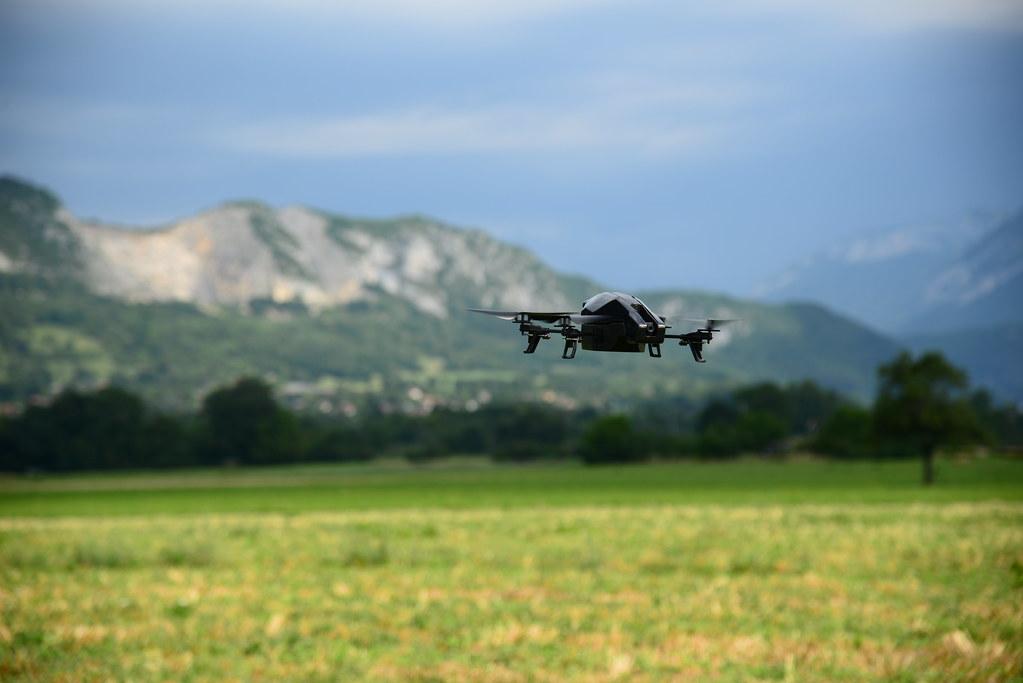 Drone à doussard