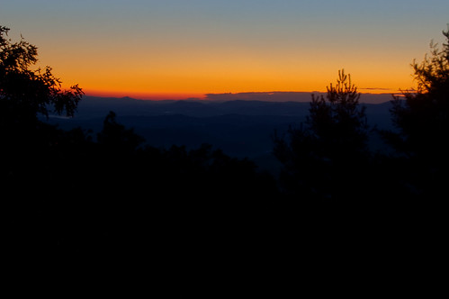 mountains sunrise nc boone