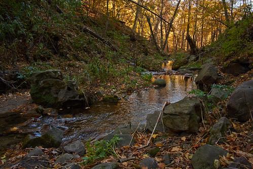 wisconsin fallcolors foliage autumnscene devilshead merrimac devilslakestatepark saukcounty parfreysglencreek parfreysglenstatenaturalarea fujifilmxpro1