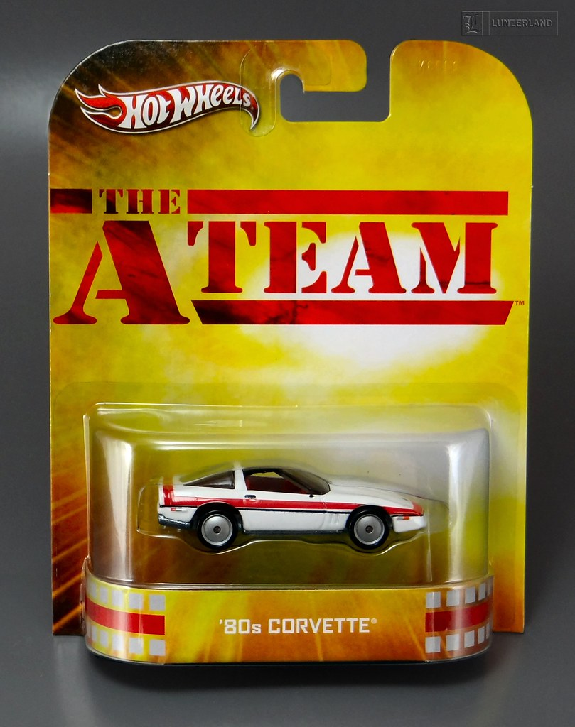 The A - Team ~ '80s CORVETTE 1:64 scale die cast Mint On C