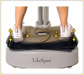 LifeSpan Fitness VP-1000 Vibration Plate | by 39ff7a173a9340deab86524f2508fd0e
