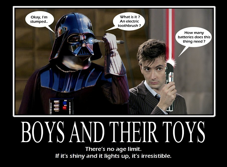 Star Wars  Doctor Who  Boys And Their Toys  Man, When I -6561