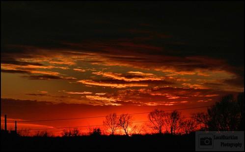 sunset dusk ozarks springfieldmissouri southwestmissouri localozarkian ozarkssunset nathanaelgreenpark greencountymissouri