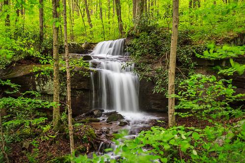 park longexposure nature canon waterfall spring woods state hiking pennsylvania explore pa ohiopyle stateparks ohiopylestatepark explored pastatepark 60d jonathanrunfalls h323f2980