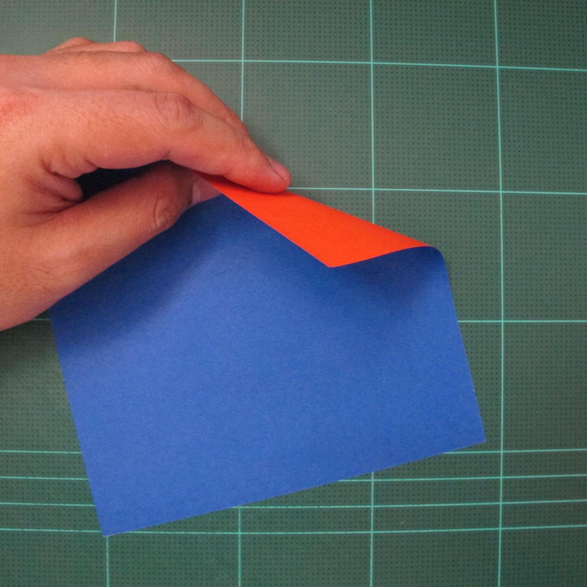 การพับกระดาษเป็นรูปเรือใบ (Origami Sail Boat) 001