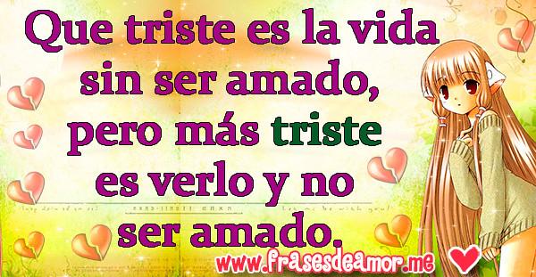 15 Frases De Amor Tristes Con Imagen Para Facebook Frase