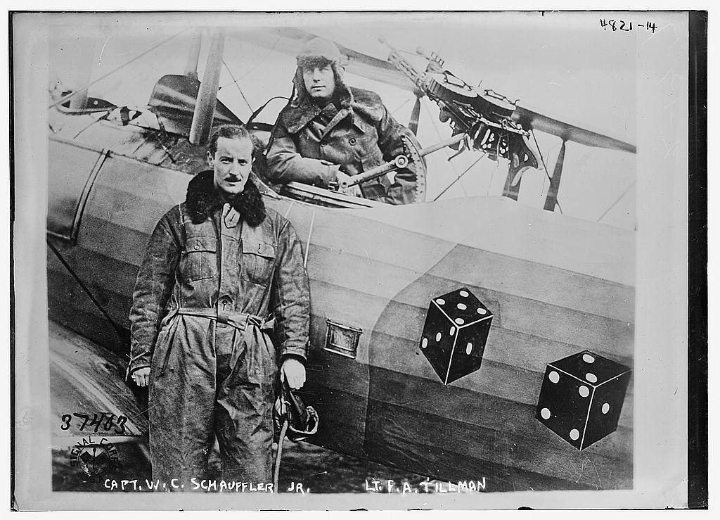 Capt. W.C. Schauffler Jr. [& Lt. F.A. Tillman] (LOC)