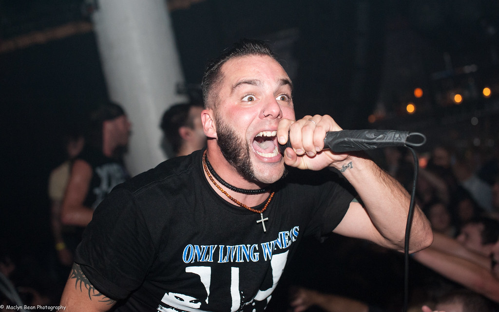 Jesse Leach of Killswitch Engage @ Santo's Party House | Flickr