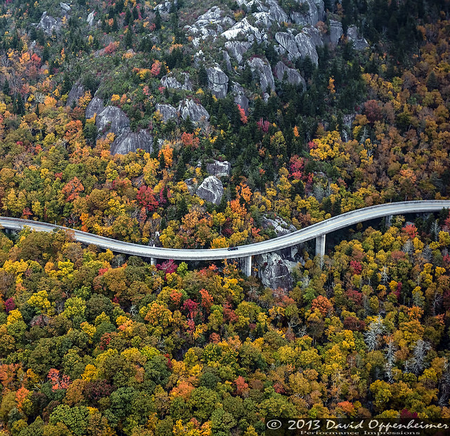 Linn Cove Viaduct on the Blue Ridge Parkway