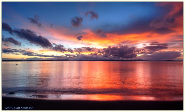 Mutiny Bay Sunset