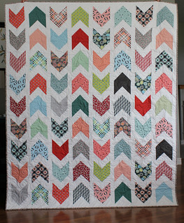 Pow Wow quilt using Florence fabrics