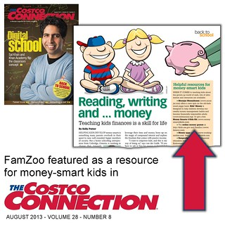 FamZoo Featured in August 2013 Costco Connection | by FamZoo
