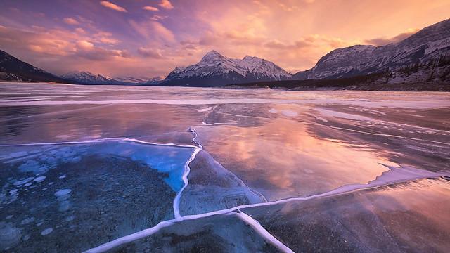 abraham_lake_sunset