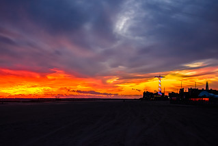 Sunset on Coney Island | by drpavloff