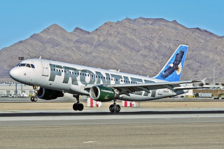 N204FR Frontier Airlines 2004 Airbus A320-214 - cn 2325 - McCarran International Airport, Las Vegas | by TDelCoro
