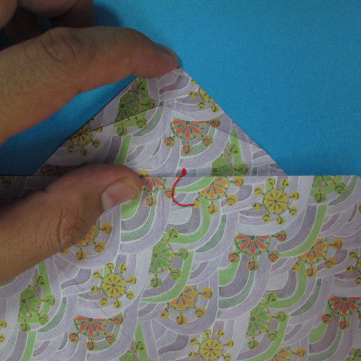 สอนวิธีพับกระดาษเป็นช้าง (แบบของ Fumiaki Kawahata) 023