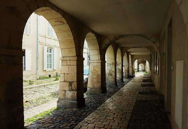 La Rochelle, rue de l'Escale
