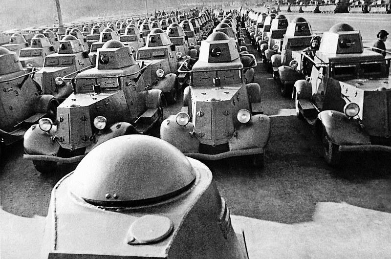 Russiske pansrede biler