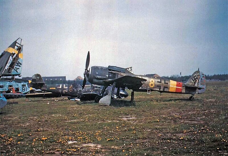 Um Focke-Wulf Fw-190-A9 lutador