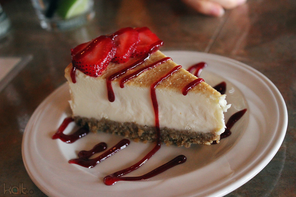 High Finance Cheesecake