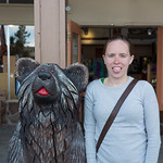 Emily found a bear