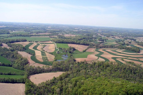 Aeriel photo of Piney Run Rural Legacy Area in Baltimore County