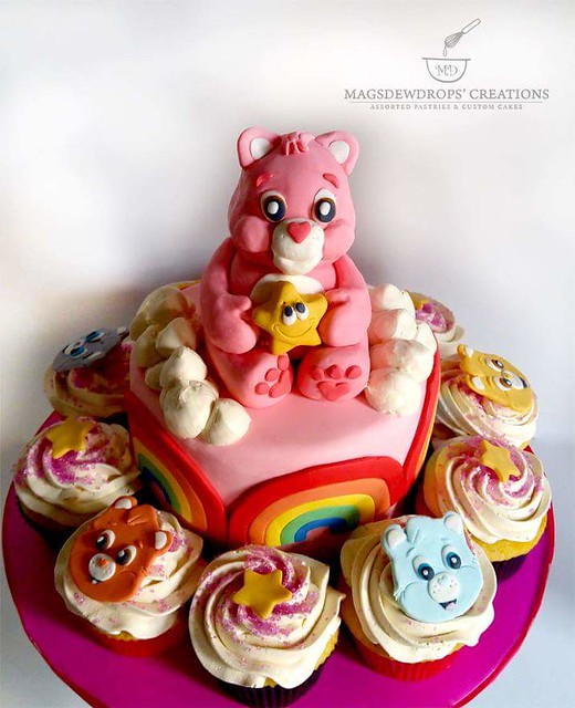 Carebear Theme Cake