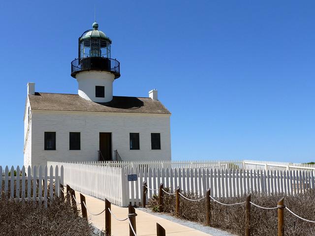Historic Lighthouse Point Loma - San Diego, California
