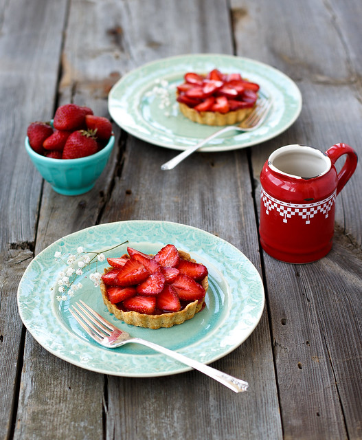 Strwawberry tartlettes