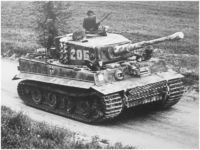 The Tiger '205' of SS-Obersturmführer Michael Wittmann