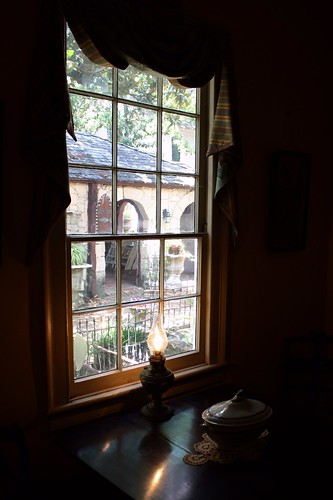 trees brick history window glass overgrown lamp yellow darkroom fence garden dark landscape interesting quiet unitedstates dish florida 19thcentury statues peaceful tint courtyard explore walkway diningroom curtains johnhenry lush quaint frontporch roomwithaview tranquil 1839 talltrees insidelookingout floridahistory saintaugustine ushistory darkenedroom explored windowofopportunity thickglass 19thcenturyglass windowoftime ninehouses windowonthepast dowhouse onesquareblock 9over6 dowmuseumofhistorichouses builtbetween1790to1910 kennethworcesterdow fifteenpanes jessefishtavern ex189 bestposition65~82413