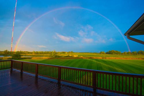 sky sunrise rainbow nikon vr d800 1635mm 2013