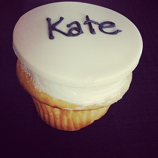 Kate's very own cupcake at the Purina IDC. #special | by aussomedogs