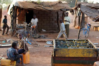 Scenes from the rural villages -  focus on the football | by 10b travelling / Carsten ten Brink