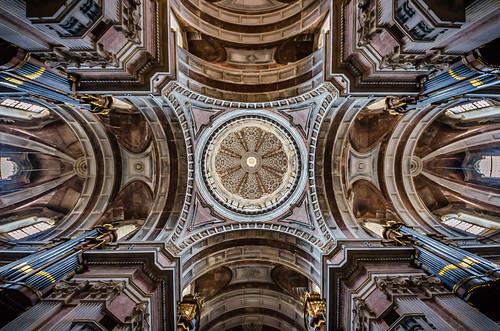Basílica do Palácio Nacional de Mafra.
