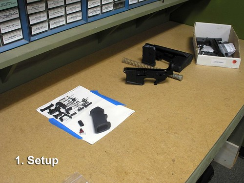 How to build an AR-15: Step 1: Set-up | by simonov