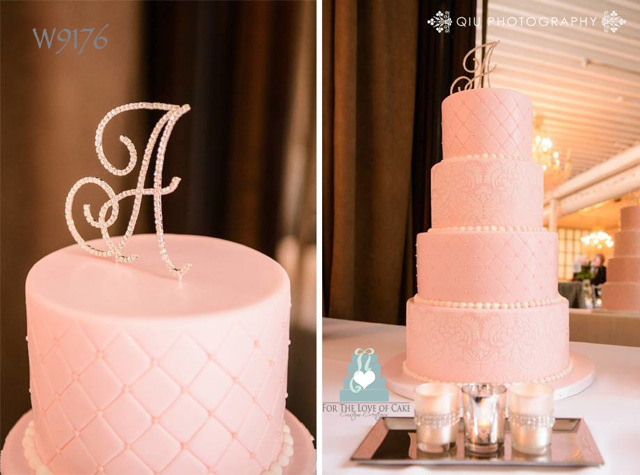 W9176-4-tier-pink-damask-wedding-cake-toronto