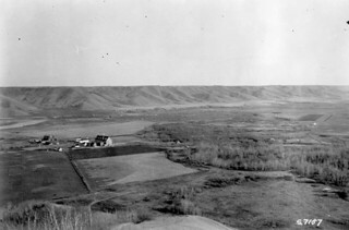 Marieval Mission, Cowesses Indian Residential School in Elcapo Creek Valley, Saskatchewan, 1923 / Mission de Marieval, Pensionnat indien de Cowesses, dans la vallée d'Elcapo Creek (Saskatchewan), 1923