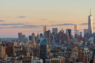 Downtown Manhattan Sunset | by rjsnyc2